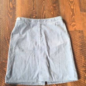 Light blue corduroy Club Monico skirt